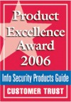 Product Excellence Award 2006 logo