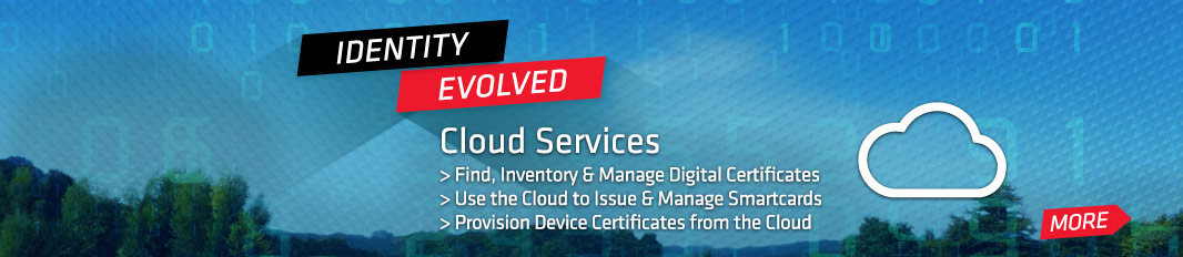 Cloud Services: Find, inventory and manage digital certificates, issue and manage smartcards and provision device certificates