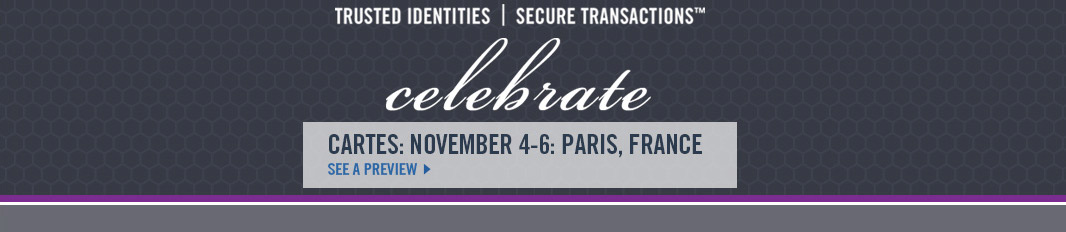Celebrate.  Cartes: November 4-6: Paris, France.  See a preview