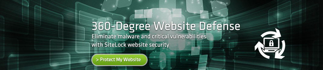360-Degree Website Defense - Eliminate malware and critical vulnerabilities with SiteLock website security
